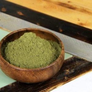 green vietnam kratom powder